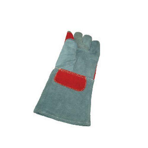 دستکش تمام چرمی آستردار حرفه ای جوشکاری نخ سوز (هوربات)