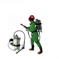 اسپری فشار قوی آب و کف کوله ای با عملکرد گازی با قابلیت نصب و استفاده همزمان با سیستم های تنفسی