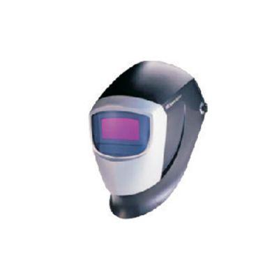 ماسک جوشکاری کلاهی با شیشه فتوکورومیک قابل تنظیم لحظه ای با نور تاریکی بین 9 تا 13