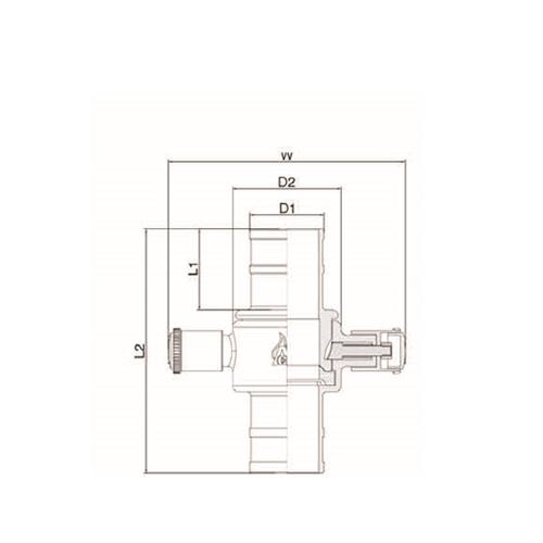 کوپلینگ انگلیسی مدل L44