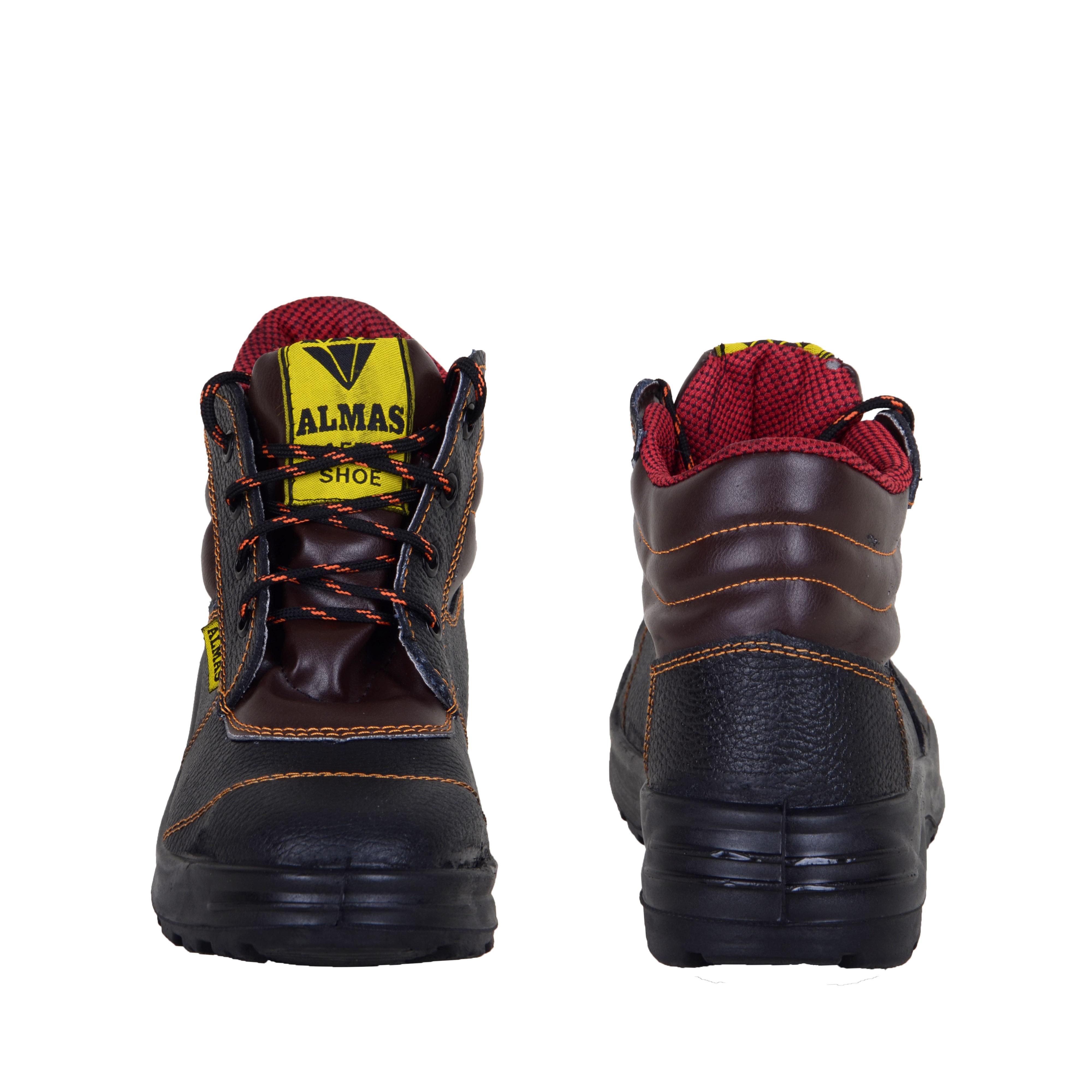 پوتین کفش ایمنی الماس